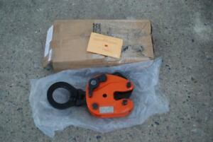 Renfroe Jpa 02 00 a Vertical Lifting Plate Clamp 4 000lbs 0 1 W side Pull New