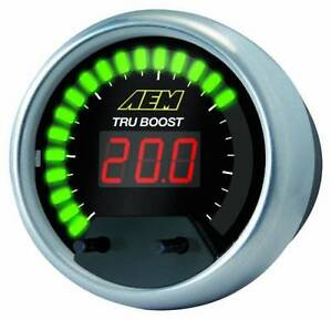 Aem Tru boost Gauge type Electronic Turbo Boost Controller P n 30 4350