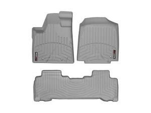 Weathertech Digitalfit Floorliner For Honda Pilot 06 08 1st 2nd Row Grey