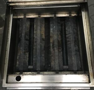24 Char Broiler 2 Grill Commercial Restaurant Heavy Duty Nat Lp Gas New
