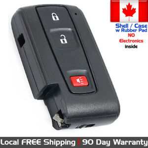 1x New Replacement Keyless Entry Remote For Toyota Prius 2004 2009 Shell Only