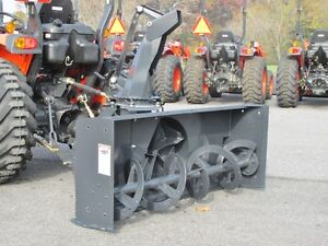 New Mk Martin Meteor Snow Blower 72 Pto Drive 3 Point Hitch Manual Spout
