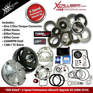 29545312 Xxx Performance Rebuild Kit For Allison Trans W Tc Gm Duramax 6 Spd