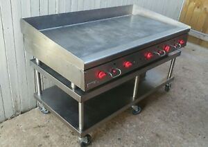 Vulcan 60 Commercial Manual Heavy Duty Gas Griddle W Stand