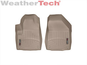 Weathertech Floorliner For Jeep Cherokee 2014 2015 1st Row Tan