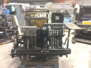 Printing Press Heidelberg Windmill With Hot Foil 13x18