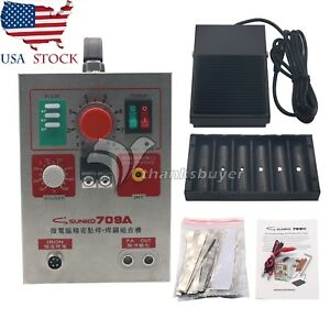 Dual Pulse Spot Welder 788h Led Welding Machine Battery Charger Power Tool Us