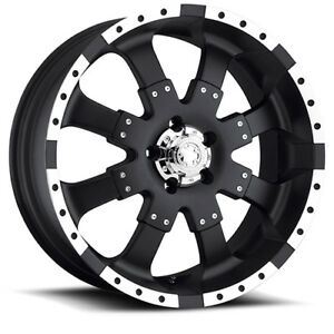 22x9 5 Black Goliath 224b 8x180 35 Nitto Dune Grappler 305 45r22 Rims Tires