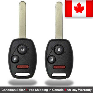 2x New Replacement Keyless Entry Remote Key Fob For Honda Pilot Cwtwb1u545