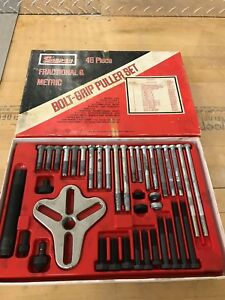 Snap On 48 Piece Bolt Grip Puller Set