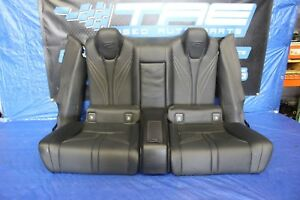 2015 Lexus Rc f 5 0l V8 Oem Factory Black Leather Rear Seats Coupe Assy 1086