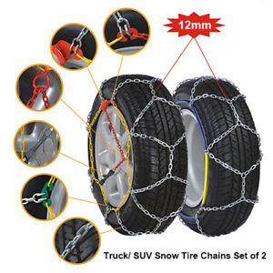 Brand New Snow Tire Chains 215 60 16 225 55 16 Set Of 2
