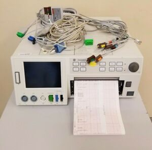 Ge Corometrics 120 Series Maternal Fetal Monitor 0129 Inv 2727 Biomed Tested