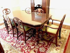 Union Furniture Co Dining Room Set Circa 1930s