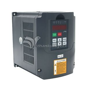 2hp 1 5kw Variable Frequency Drive Inverter 220v 7a Vfd Cnc Speed Control Us