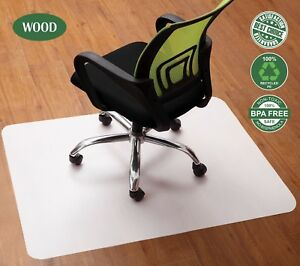Office Chair Mat For Hardwood Floors 35 X 47 Inch Protection For Computer Desk