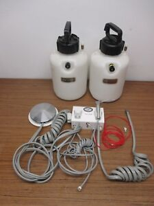 Nitair Veterinary Dental Control Box System Plus Air Water Tanks