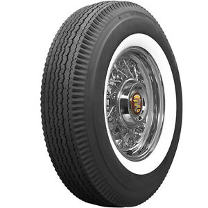 Universal 820 15 2 1 4 Inch White Wall Tire