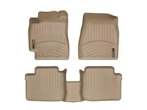 Weathertech Floor Mats Floorliner For Toyota Camry 02 06 1st 2nd Row Tan