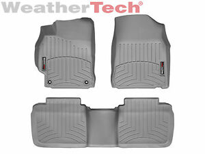 Weathertech Floorliner Mats For Toyota Camry 2012 2014 5 1st 2nd Row Grey