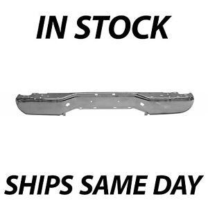 New Chrome Steel Rear Bumper Face Bar Shell For 2005 2018 Nissan Frontier 05 18