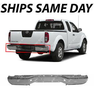 New Chrome Steel Rear Bumper Face Bar Shell For 2005 2017 Nissan Frontier 05 17