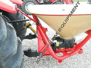 Pendulum Spreader grass Seeder fertilizer Spreader warm Season Grasses 17bu bmc
