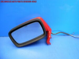 83 85 Porsche 944 Left Driver Side Exterior Mirror Assembly Complete 5 Wire