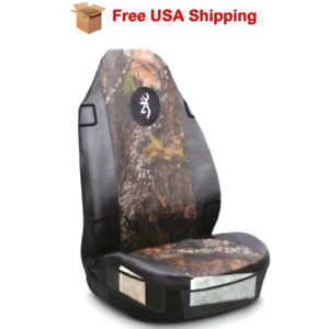 Browning Camo Universal Bucket Seat Cover Mossy Oak Break Up Infinity Polyester