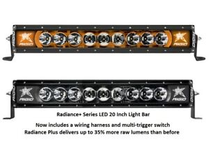 Rigid Industries Radiance Plus With Amber Back light Led 20 Light Bar