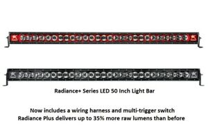 Rigid Industries Radiance Plus With Red Back Light Led 50 Light Bar