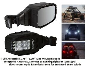 Rigid Industries Reflect Series W Side Shooter Optic And Lenticular Lens Pair