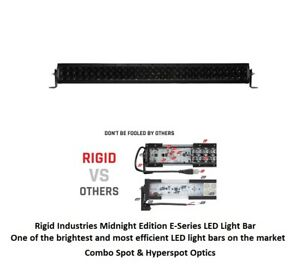 Rigid Industries 30 E series Pro Midnight Edition Combo Optics Led Light Bar