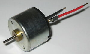 12 V Dc Electric Low Current Motor With Capacitor 3000 Rpm 10 Ma 2mm Shaft