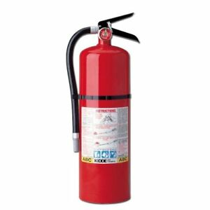 Kidde 466204 Pro 10 Multi purpose Fire Extinguisher Ul Rated 4 a 60 bc Easy T