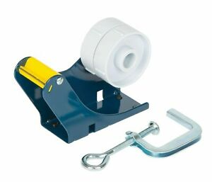 Heavy Duty Metal 50mm 2 Packing Tape Table Bench Dispenser Free Postage