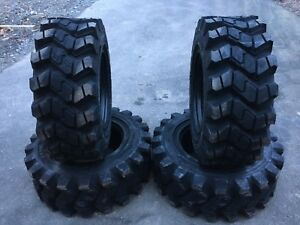 4 Camso Sks753 12 16 5 Skid Steer Tires For Gehl Mustang 12x16 5 Heavy Duty