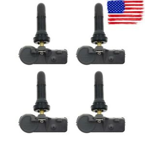 Set Of 4 Gm New Tpms Tire Pressure Monitoring Sensors For Chevy Gmc 13586335