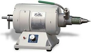 Ray Foster Polishing Lathe Variable Speed W Quick Chuck 1 3 Hp 200 4000 Rp