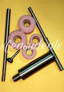 Valve Seat Grinder Stone Holder Sioux Star Driv With 2 Pilots 4 Stones