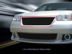 Black Billet Grille Front Upper Grill For 2006 2007 Chevy Chevrolet Malibu