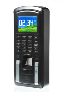 Color Screen Tcp ip Bometric Fingerprint Access Control Time Attendace Teminal