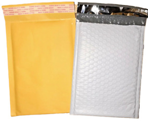 Kraft Or Tuff Bubble Mailers Choose Size Quantity 1 3000 Available 0 4x7 Cd