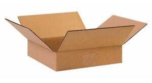 Shipping Boxes 25 Pack 6x6x2 Cardboard Mailing Storage Small Packing Boxes