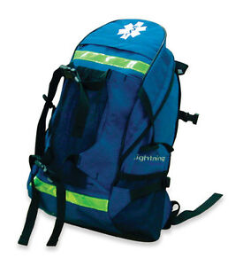 Navy Lightning X Special Events Trauma Backpack W Dividers Emt First Aid