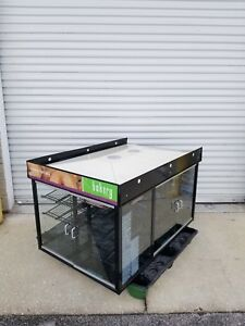 53 Self Serve 6 Door Glass Bakery Pastry Donut Dry Display Show 7 Eleven Case