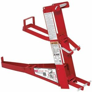 Qualcraft Pump Jack Foot Operated Powder Coat Finish Rugged Steel Construction
