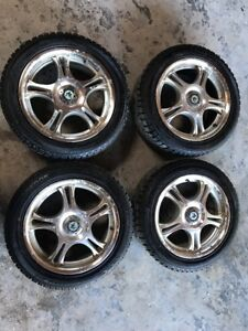 4 Mini Cooper 16 Wheels Rims 195 55 16 Tires Winter I pike 87t
