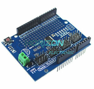 16 Channel 12 bit Pwm Servo Drive Shield Board i2c Pca9685 For Arduino New