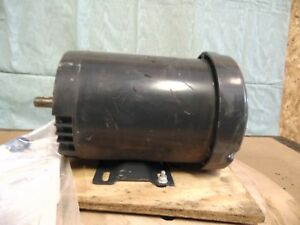 Us Motors 1 Hp Electric Motor 56c C Face 1750 Rpm A c
